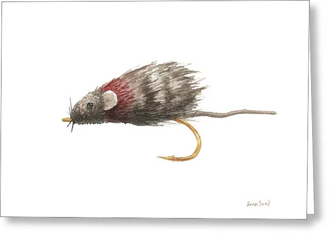 Trout Fishing Greeting Cards - Little Rusty Greeting Card by Sean Seal