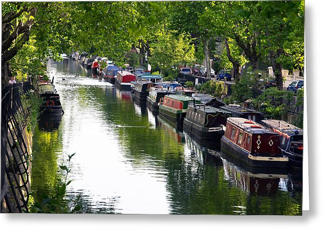 Venice Oasis Greeting Cards - Little Venice Greeting Card by Keith Armstrong