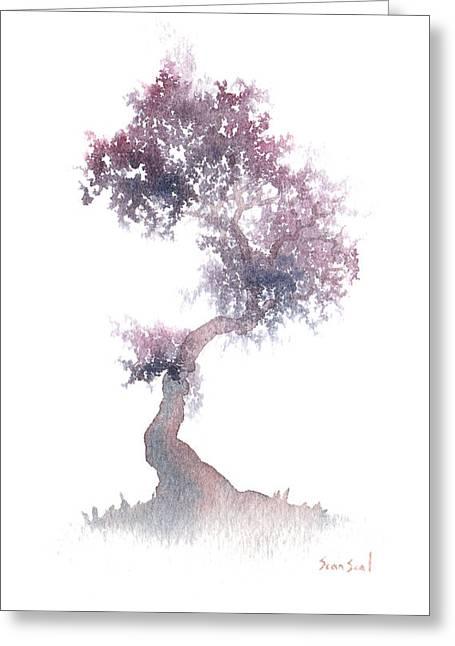 Little Zen Tree 1508 Greeting Card by Sean Seal