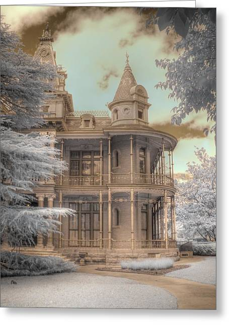 Littlefield Mansion Greeting Card by Jane Linders