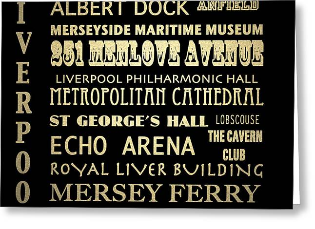 251 Greeting Cards - Liverpool England Greeting Card by Patricia Lintner