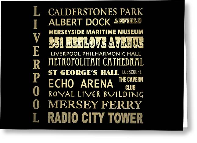 Cavern Club . Greeting Cards - Liverpool England Greeting Card by Patricia Lintner
