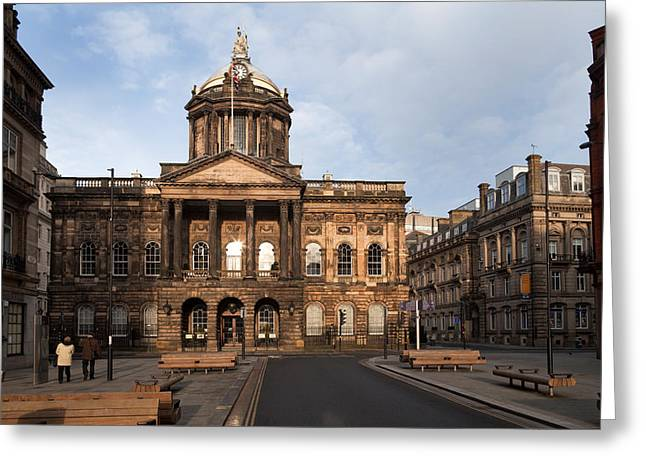 Neo Greeting Cards - Liverpool Town Hall , Liverpool Greeting Card by Panoramic Images