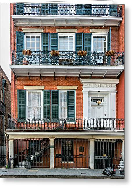 Living High In The French Quarter Greeting Card by Steve Harrington