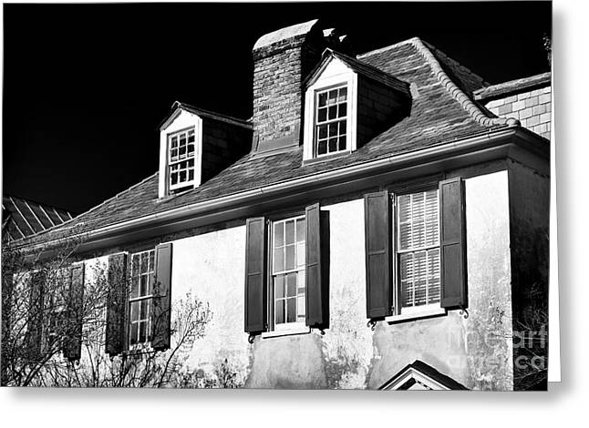 Old School House Greeting Cards - Living on Church St Greeting Card by John Rizzuto