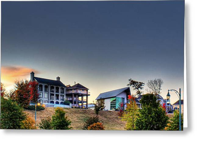 Tn Greeting Cards - Memphis - Living on the Bluff Greeting Card by Barry Jones