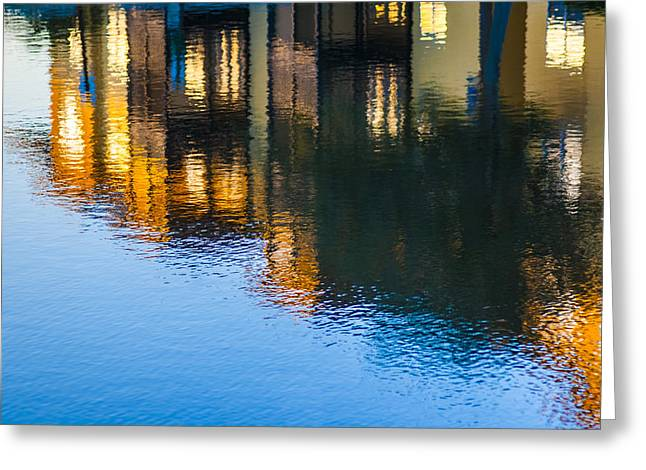 Living Life Photography Greeting Cards - Living On The Water - 3 Greeting Card by Carolyn Marshall