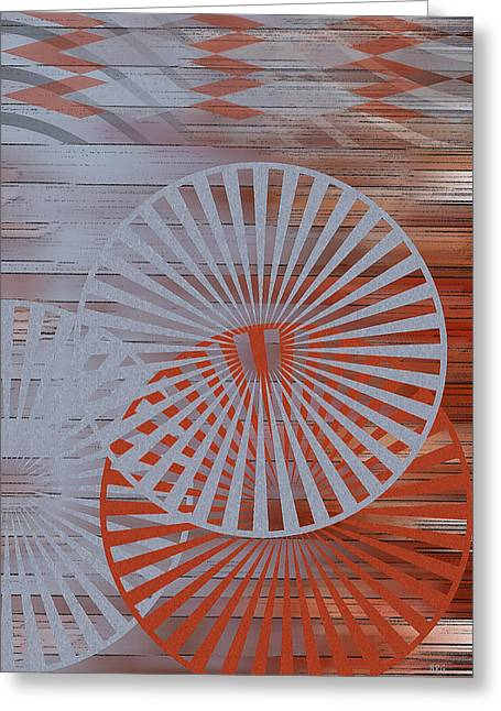 Living Space Greeting Cards - Living Spaces No 1 Greeting Card by Ben and Raisa Gertsberg