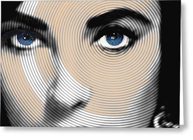 Liz Taylor Greeting Cards - Liz Taylor Greeting Card by Tony Rubino