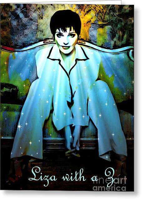 Barbara Chichester Digital Greeting Cards - Liza with a Z Greeting Card by Barbara Chichester