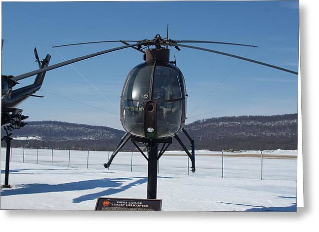 Oh-6a Greeting Cards - Loach OH 6A CAYUSE Greeting Card by Rob Luzier