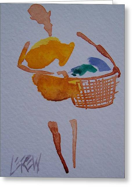 At Work Drawings Greeting Cards - Load of Darks Greeting Card by Larry Lerew