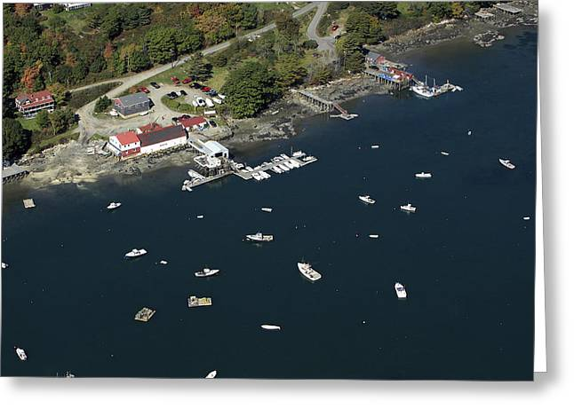 New England Village Greeting Cards - Lobster Boats, Bremen, Maine Greeting Card by Dave Cleaveland