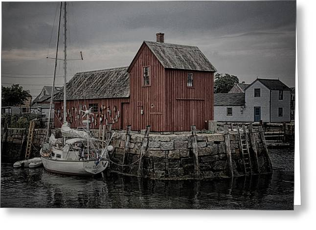Lobster Shack Greeting Cards - Lobster Shack - Rockport Greeting Card by Stephen Stookey
