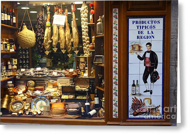 Local Produce Toledo Spain Greeting Card by James Brunker