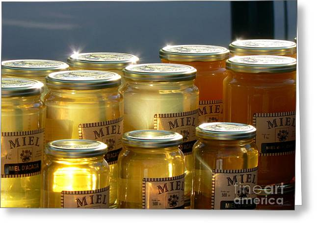 Languedoc Greeting Cards - French Honey  Greeting Card by France  Art