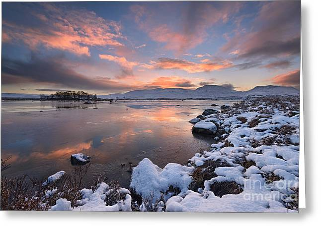 Rannoch Moor Greeting Cards - Loch Ba Greeting Card by Rod McLean