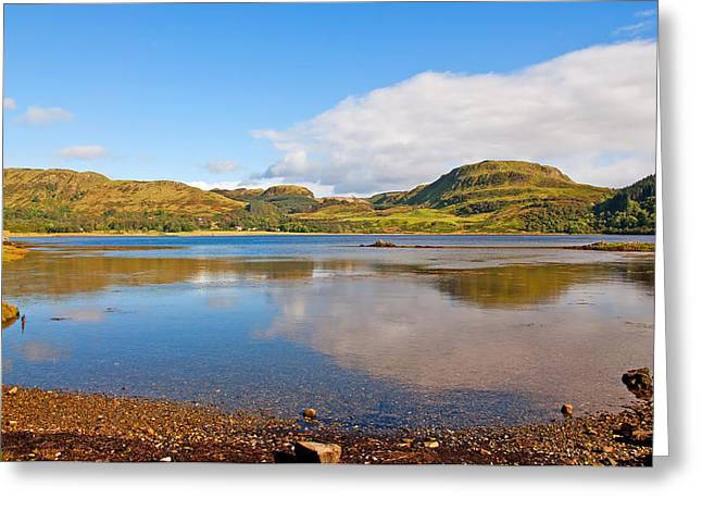 Bute Greeting Cards - Loch Craignish Argyll Scotland Greeting Card by Chris Thaxter