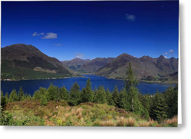 Purchase Greeting Cards - Loch Duich  Greeting Card by Ollie Taylor