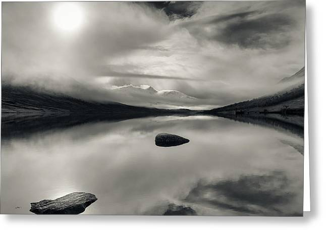 Beautiful Scenery Photographs Greeting Cards - Loch Etive Greeting Card by Dave Bowman