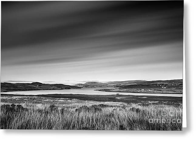 Western Isles Greeting Cards - Loch Greshornish Greeting Card by Rod McLean