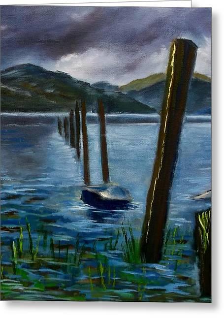 Dawn Noble Greeting Cards - Loch Lomond Greeting Card by Dawn Noble