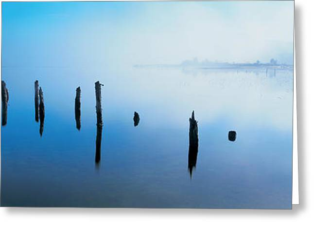 Fog Mist Greeting Cards - Loch Shiel, Scotland, United Kingdom Greeting Card by Panoramic Images