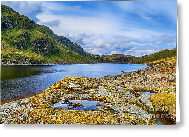 Lochan Greeting Cards - Lochan na Lairige Greeting Card by Chris Thaxter