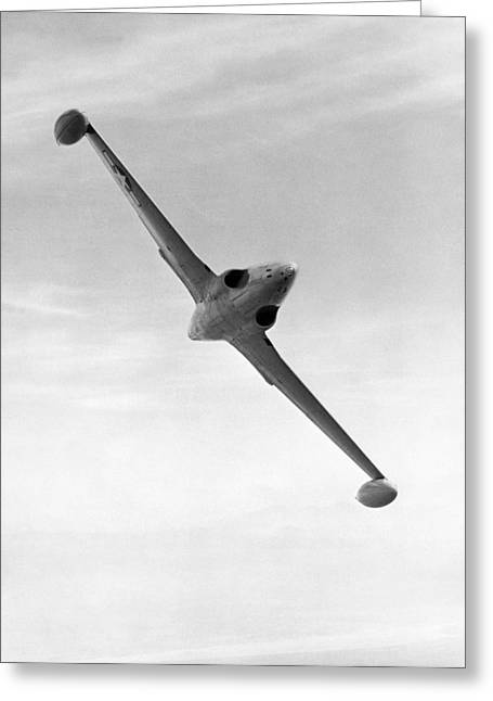 Jet Star Greeting Cards - Lockheed P-80 Shooting Star Greeting Card by Underwood Archives