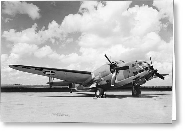 Lockheed Ventura B-34 Greeting Card by Underwood Archives