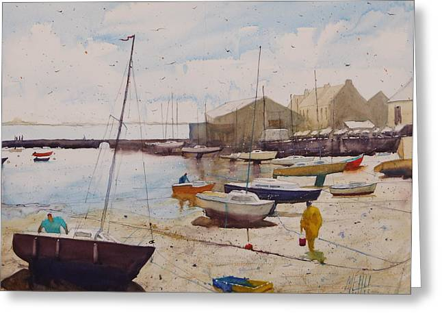 Lorient Greeting Cards - Locmalo Greeting Card by Andre MEHU