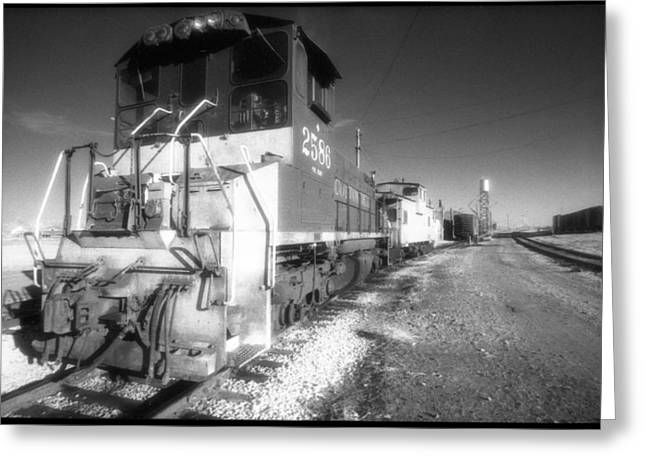 Entourage Greeting Cards - Locomotion Greeting Card by Greg Kopriva