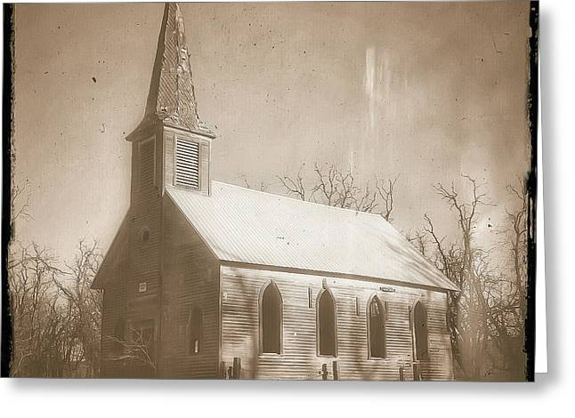 Old Photography Greeting Cards - Locust Grove Greeting Card by Darren  White
