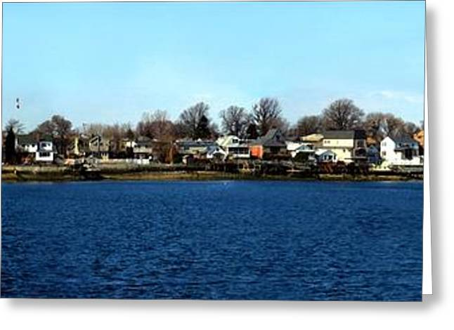 York Beach Greeting Cards - Locust Point  Greeting Card by Dale   Ford