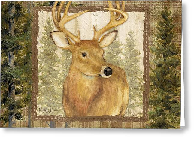 Acorn Greeting Cards - Lodge Portrait I Greeting Card by Paul Brent