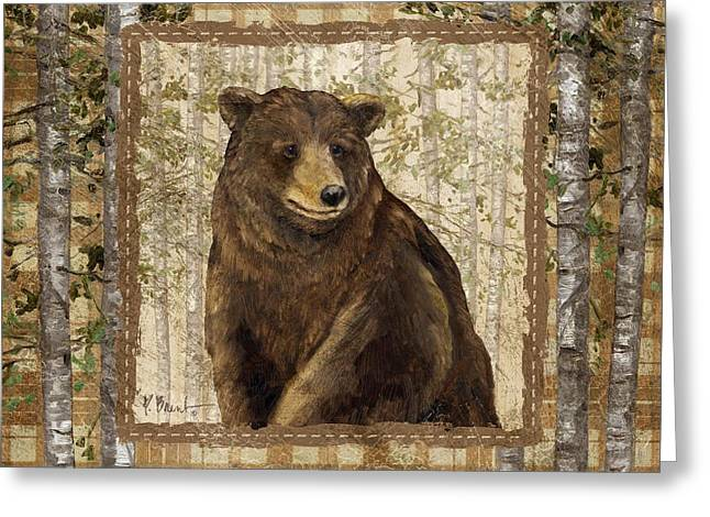 Acorn Greeting Cards - Lodge Portrait II Greeting Card by Paul Brent