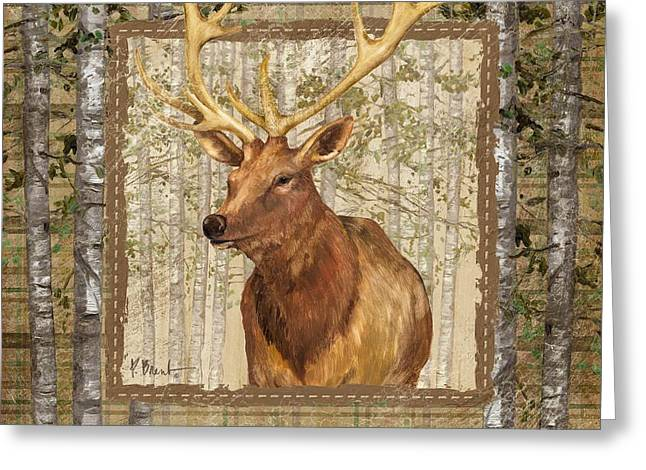 Acorns Greeting Cards - Lodge Portrait III Greeting Card by Paul Brent