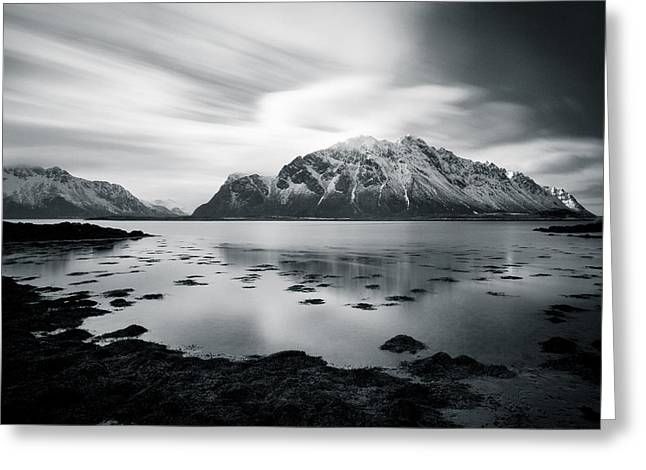 Arctic Circle Greeting Cards - Lofoten Beauty Greeting Card by Dave Bowman