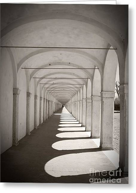 Delta Town Greeting Cards - Loggia dei Cappuccini Greeting Card by Gabriela Insuratelu