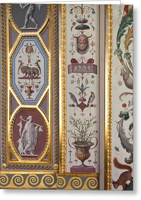 St. Raphael Greeting Cards - Loggia Of Raphael In Room 227, State Greeting Card by Panoramic Images