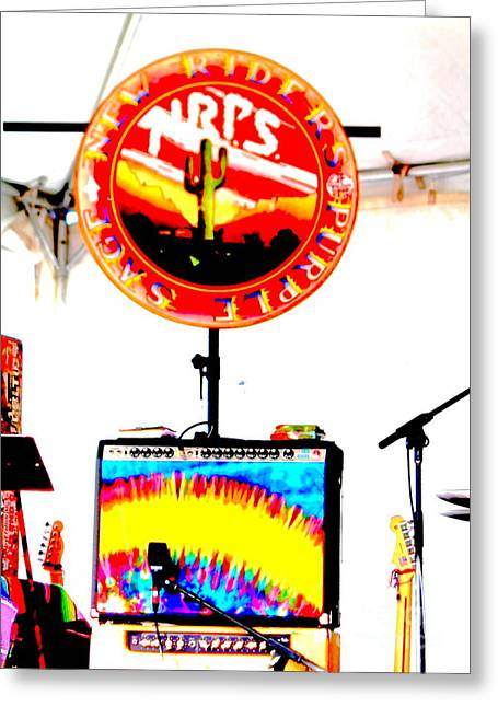 New Riders Of The Purple Sage Greeting Cards - Logo  Greeting Card by Jesse Ciazza