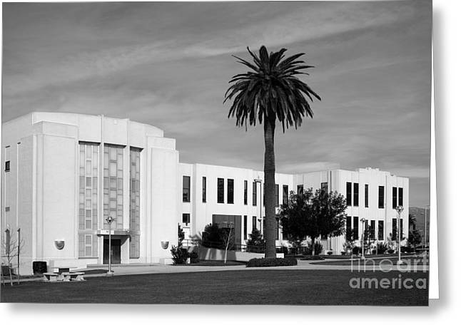Southern Colleges Greeting Cards - Loma Linda University Library Greeting Card by University Icons