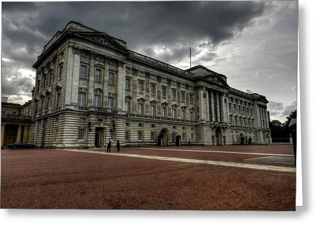 London 049 Greeting Card by Lance Vaughn