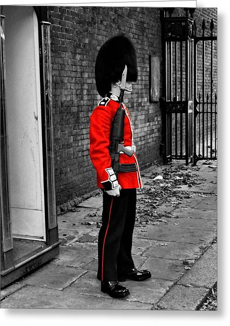 British Royalty Greeting Cards - London 051 Greeting Card by Lance Vaughn