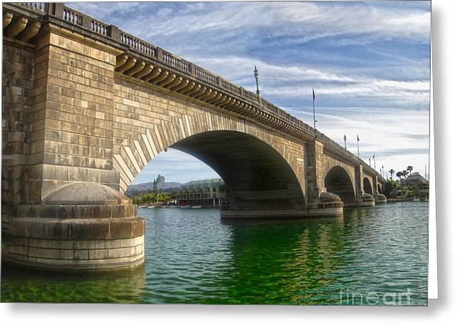 Gregory Dyer Greeting Cards - London Bridge Greeting Card by Gregory Dyer