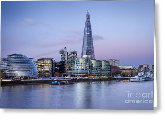 Development Greeting Cards - London - City Hall Greeting Card by Brian Jannsen