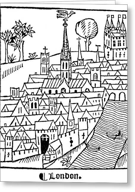 London, England, 1510 Greeting Card by Granger