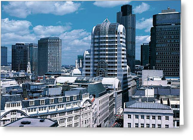 City Buildings Greeting Cards - London England Greeting Card by Panoramic Images