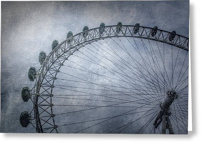 London Structure Greeting Cards - London Eye Greeting Card by Erik Brede