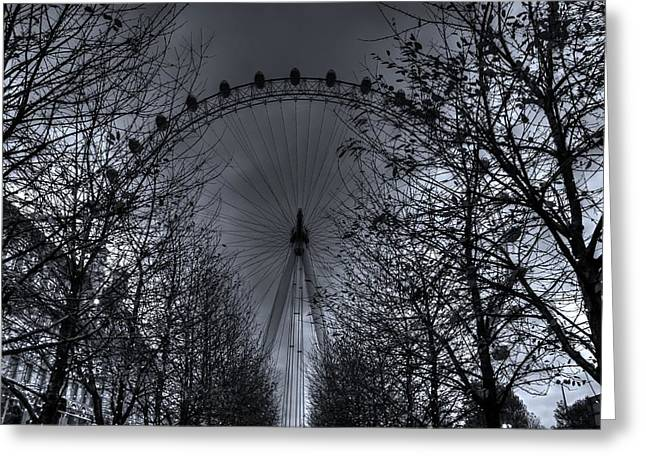 Londoneye Greeting Cards - London eye Greeting Card by Martin Hristov